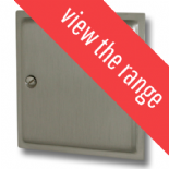 Highline Plate Satin Nickel Fan Isolator Switches